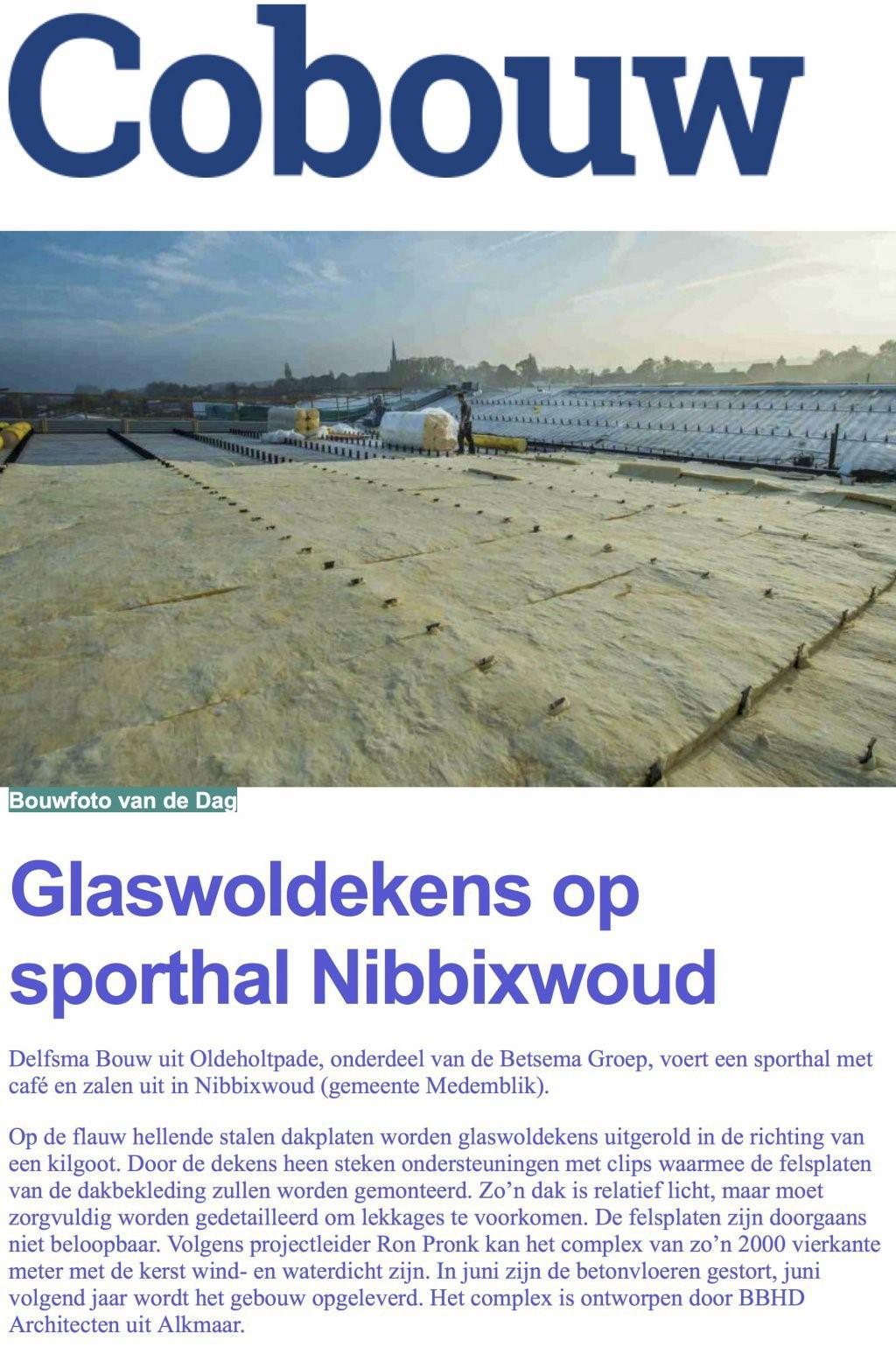glaswol nibbixwoud