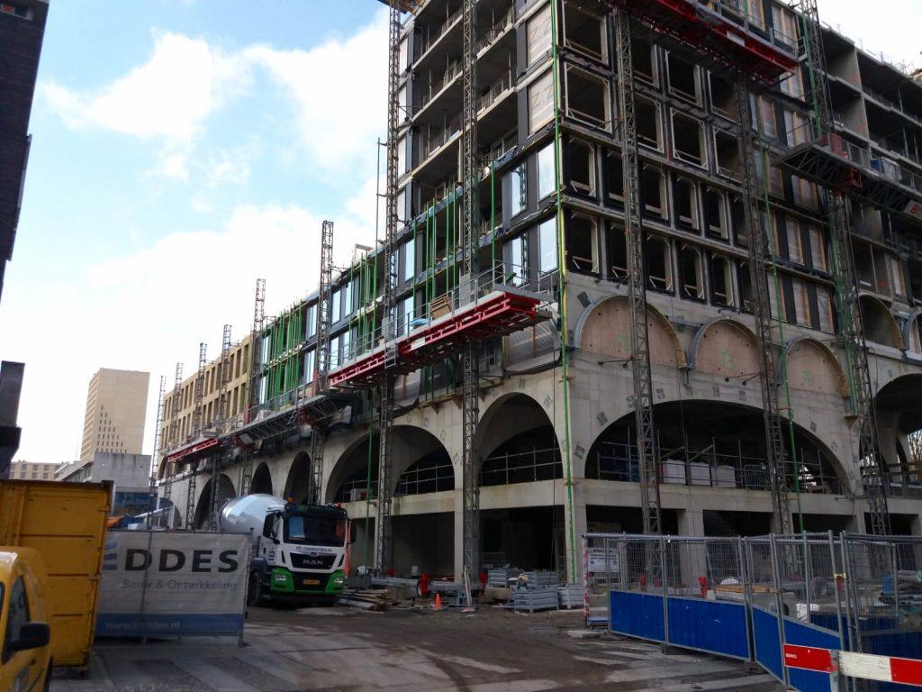 Aanbouw Westbeat februari 2020